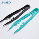 Disposable medical colorful plastic surgical tweezers