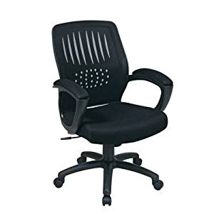Avenue 6 Office Star EM59722-3 Screen Back Over Designer Contoured Shell Chair