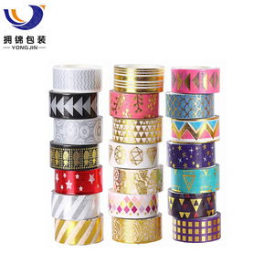 Foil Gold Skinny Decorative Masking Washi Tapes,3MM Wide DIY Masking Tape