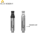 Refillable Top filling Cbd oil atomizer with ceramic heating coil pure taste