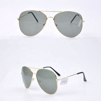 Factory Supply in Stock Metal Frame Custom Sunglasses Aviation Polarized