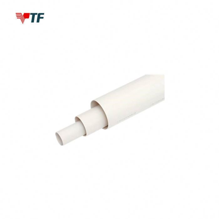 White UPVC Pipe Conduit for cold water and hot water supply