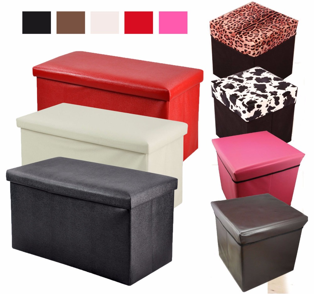 Nice Practical Folding Storage Footstool