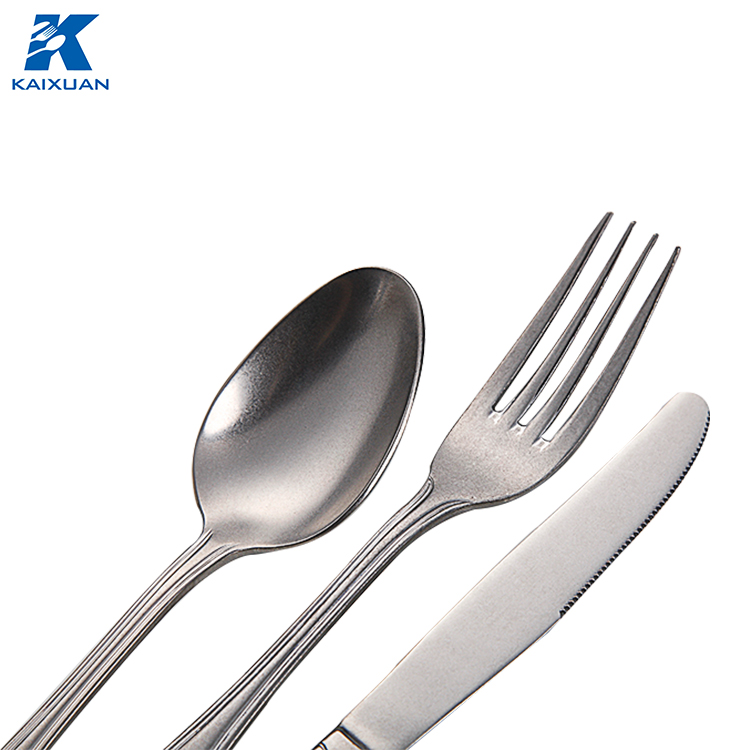 Beautiful Style Spanish Market Stainless Steel Dinnerware Set