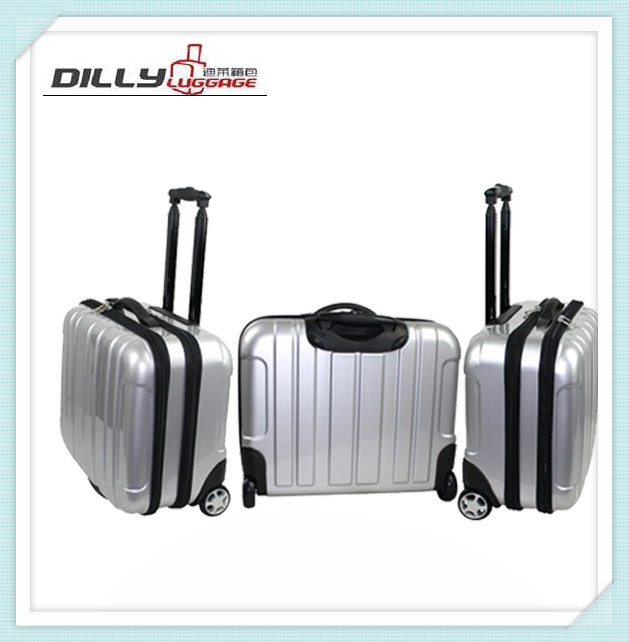 latest product custom print laptop hard suitcase with caster