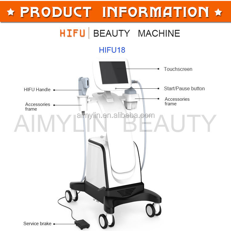 HIFU anti-wrinkle HIFU beauty machine