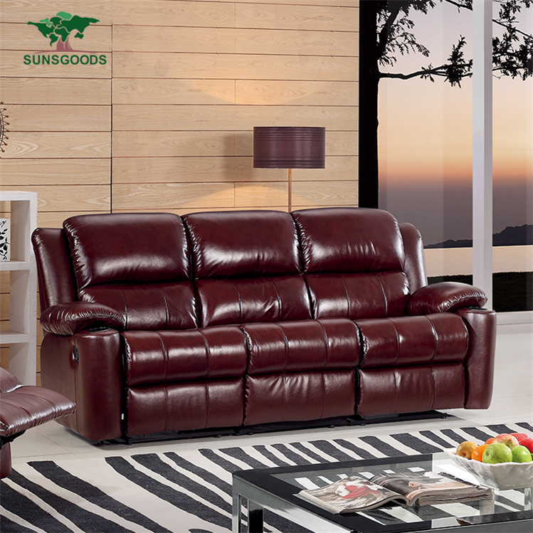 3 Seater Leather Recliner, 3 Seater Leather Recliner Suppliers And  Manufacturers At Alibaba.com