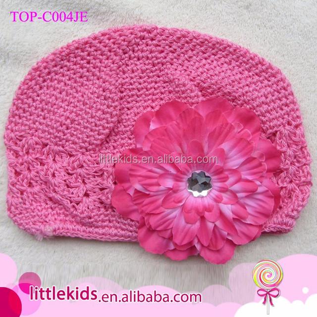 Promoción bebé flor gorro, Compras online de bebé flor ...