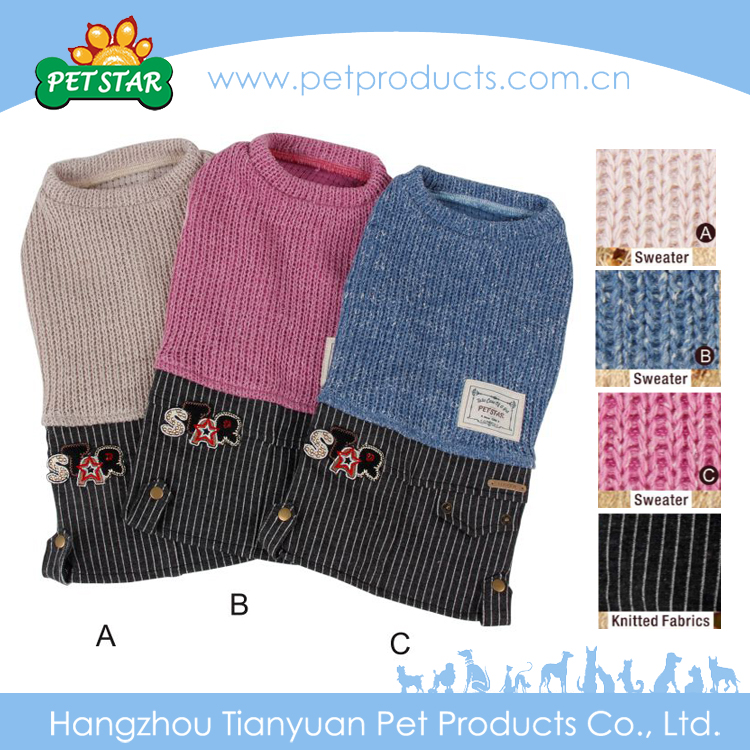 Wholesale New Style Knitted Dog Sweater