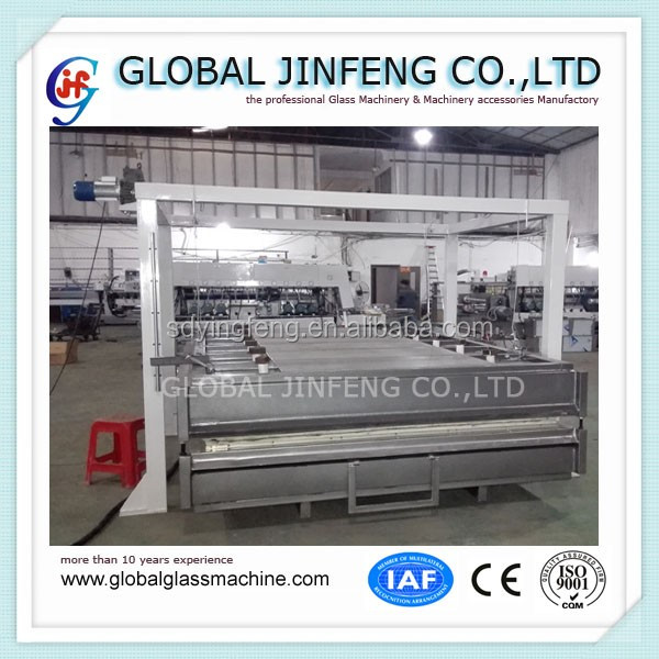 JFK-1830 Large size shower door glass bending furnace with CE popular in Europe