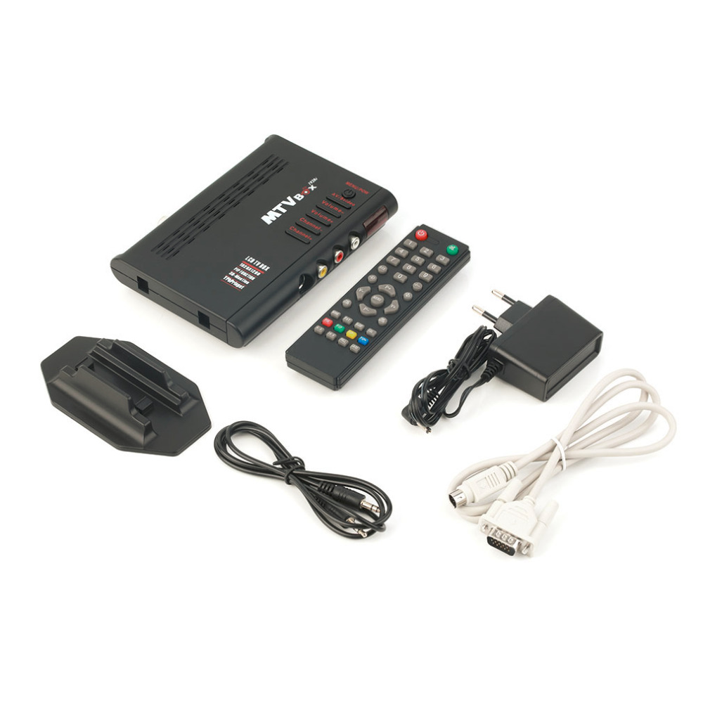 in stock ! Digital Computer <strong>TV</strong> Programs Tuner Receiver <strong>Dongle</strong> Monitor Black LCD <strong>TV</strong> <strong>Box</strong> EU Plug
