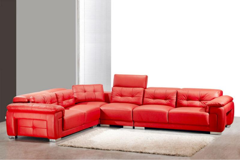 minimalista italiano mobili di design comodo schienale alto divano ... - Pelle Dangolo Divano Minimalista