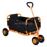 Multipurpose folding wagon shopping cart trolley