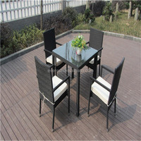 Teak garden leisure furniture rattan garden furniture