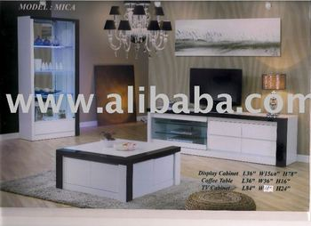 Mica Living Room Series, Coffee Table, TV Stand, Display Cabinet, Modern  Living