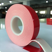 Acrylic Double Sided High Bonding Adhesive VHB Foam Tape For Steel