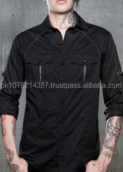2015 Mens Gothic Blacklist Military Shirt Cotton Material - Buy Men's  Fashion Gothic Punk Cotton Shirts Steampunk,Mens Gothic Shirts,Slim Fit  Cotton