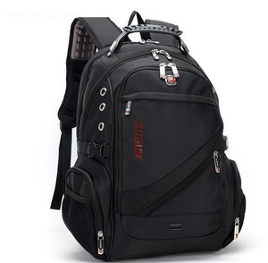 Wholesale top quality Augur best brand black travel waterproof laptop backpack