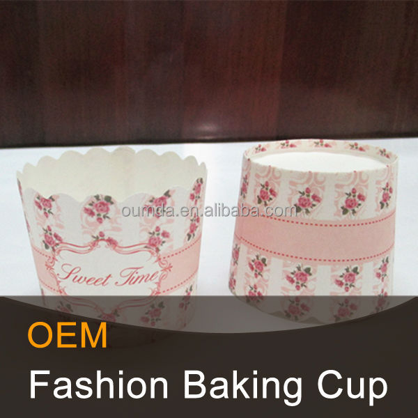 High quality cake cup square paper