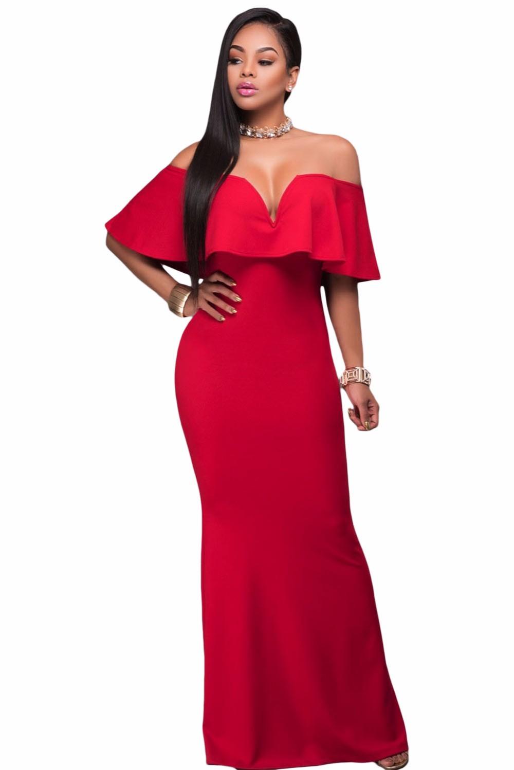 считаться длинное платье с открытыми плечами аксессуары фото вариант отлично подойдет