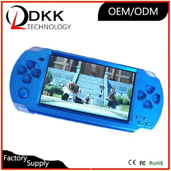 Hot Selling MP5 game player 4.3 inch 8GB support TF card Video Music Picture not for psp console portable game player simulator