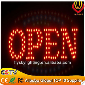 alibaba express China new video products led sign board ,led open/close board neon light energy saving