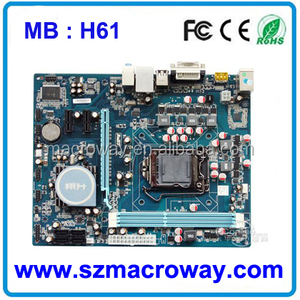 Oem Motherboard H61, Oem Motherboard H61 Suppliers and Manufacturers