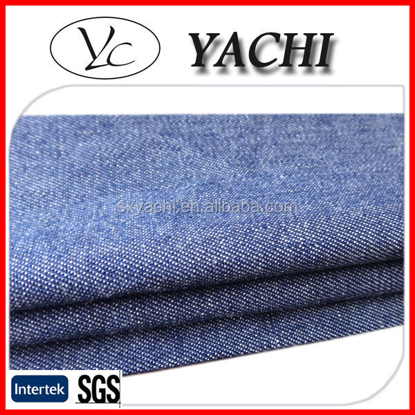 100% cotton denim fabric wholesale for wrangler jeans
