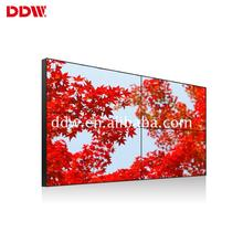 Best quality promotional video wall 1080p DDW lcd ultra narrow bezel