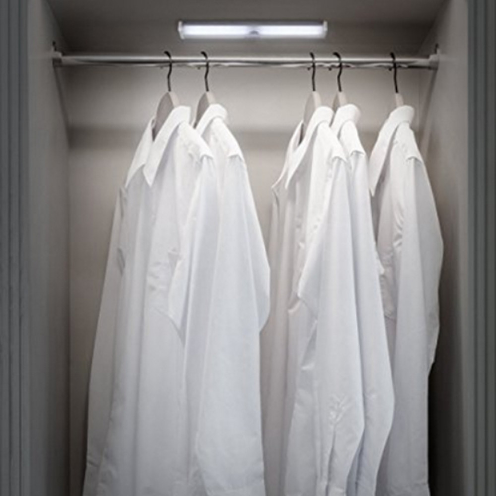 2019 New Item Rechargeable LED Closet Light Motion Sensor Under Cabinet Light Use for Closet Cabinet Wardrobe