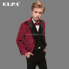 ELPA wholesale casual sweat party wear kids tuxedo suit