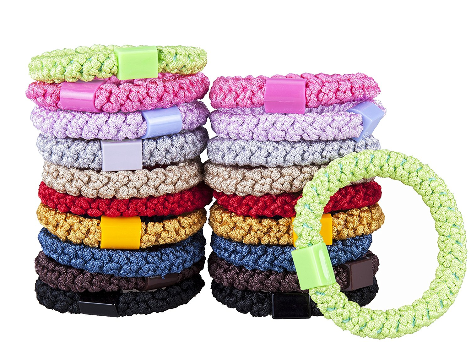 Buy Best Ponytail Holders By HBY-Stylish   Durable Elastics 7acc6c263fb