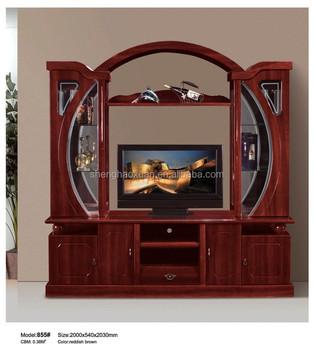 Wall Cabinets Living Room Furniture Led Tv Unit 855 I