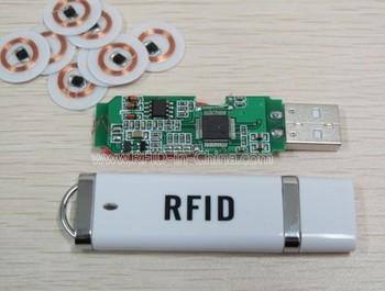 Rfid Credit Card Reader Portable Usb Tiny Rfid Reader For