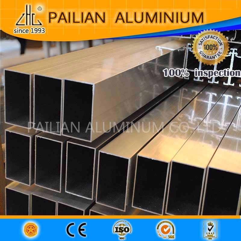 China factory Manufacture 99% aluminium purity 7075 6061 6082 aluminium extrusion profile