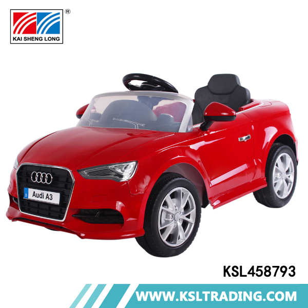 Multifunctional single drive plastic rc ride on baby electric car price
