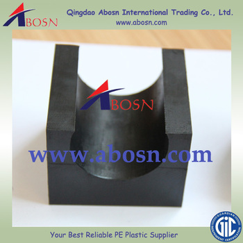 Uhmwpe Support Block For Pipe Plate/uhmwpe Manifold Block Pe Pipe Support -  Buy Uhmwpe Pipe Support,Plastic Support Block,Plastic Blocks For Machining