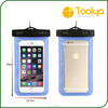 Promotional clear pvc waterproof phone bag/pvc waterproof bag