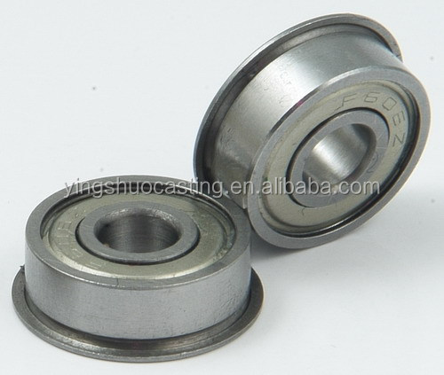 cast & forged customized flanged bearing