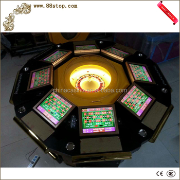 Hot sale roulette game machine for adult