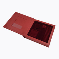 Custom Designs Frame Packaging Boxes Wooden Photo Album Box