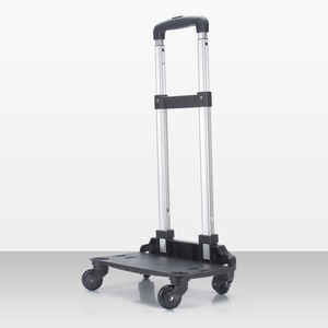 Low price for sale adjustable trolly Handles . 4 spinner 360 degree wheels Luggage Cart With Wheels,