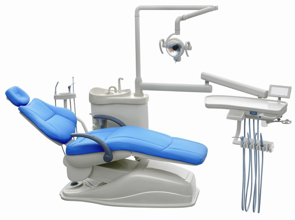 New Design And Good Quality Dental Chairs With Blue Color Real