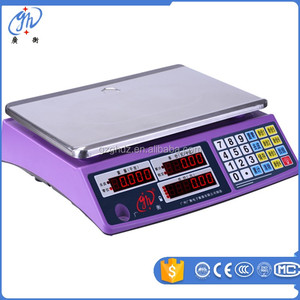 Electronic Digital Acs Price Computing Weighing Scale 3kg 6kg 15kg 30kg