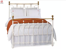cheap latest queen size models double metal bed