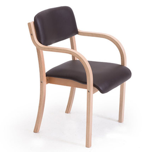 Excellent curved wood dining chair Made in China Bent wood chair