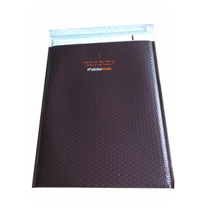 Premium Custom Poly Bubble Cushioned CD/DVD Mailers