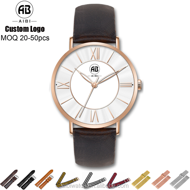2016 AIBI brand your own watches quartz watches bezel japan movt custom watches