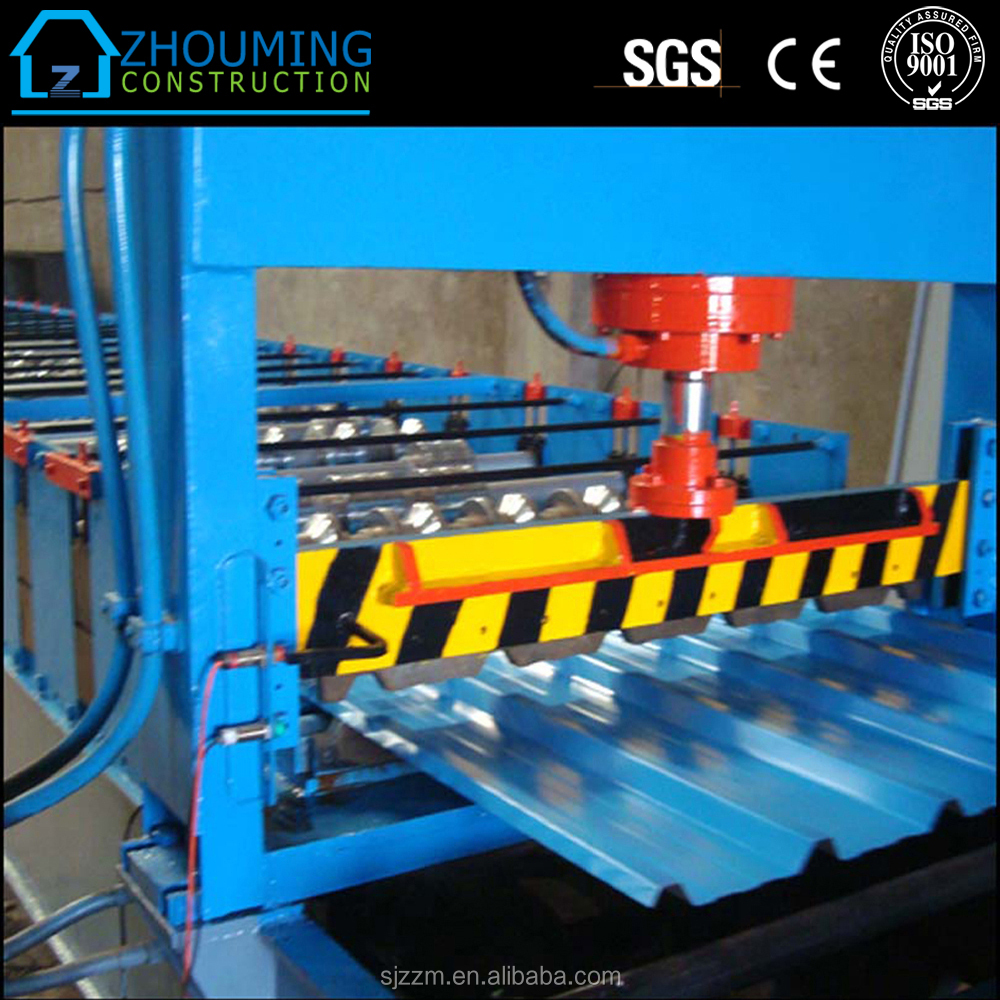 New design automatic roof tile roll forming machine/metal roof making machine Chinese manufacturer