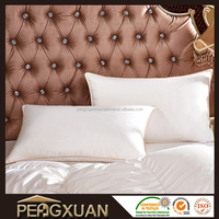 wholesale 100 % goose down pillow with decorative pillow covers
